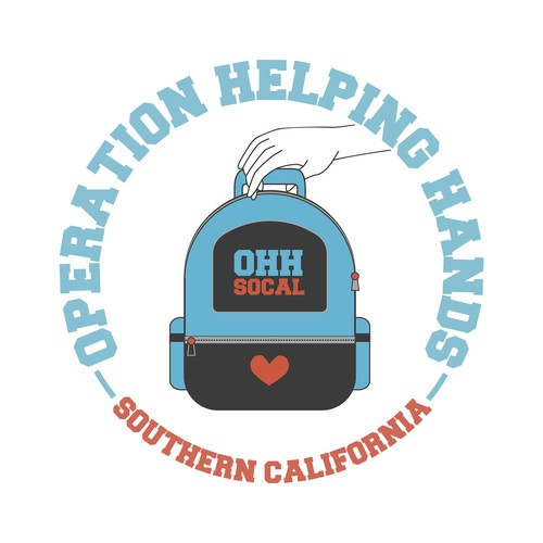 Logo design for Operation Helping Hands SoCal