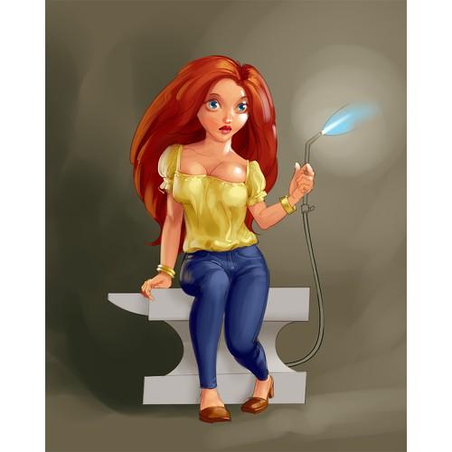 goldsmith girl mascot