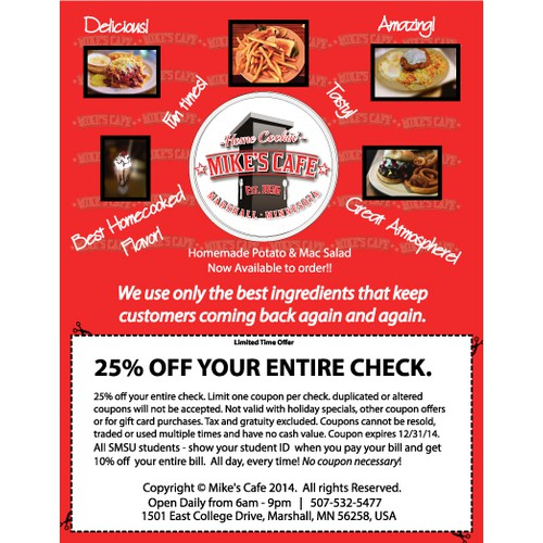 Coupon or Flyer