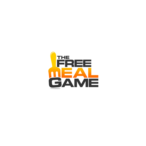 Simple concept for Free Meal Game Logo