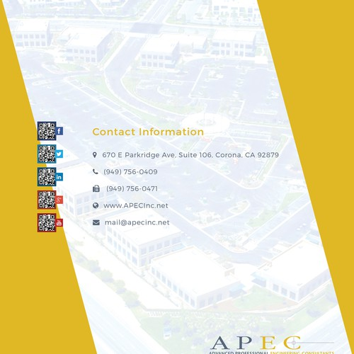 Design a Professional Booklet for an Engineering Firm