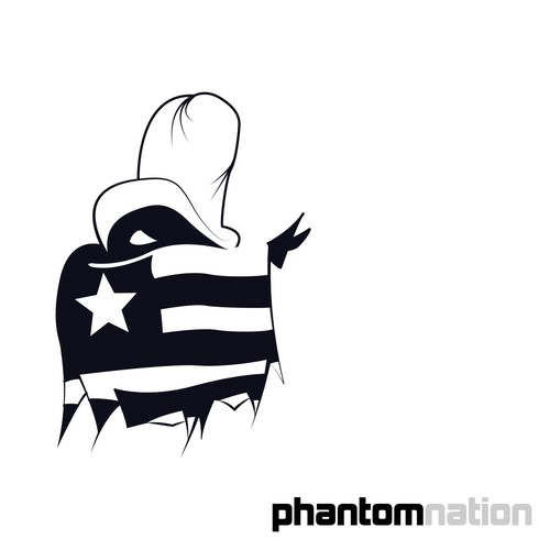 Create a Minimalist Phantom Logo for Phantomnation Media