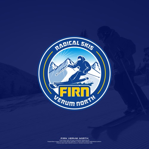 logo concepts for skiing