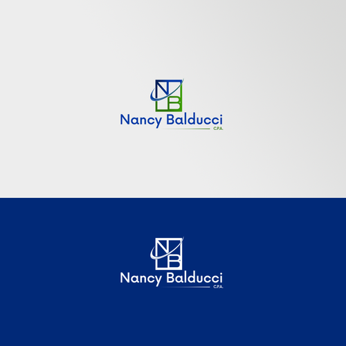 Nancy Balducci elegant logo design