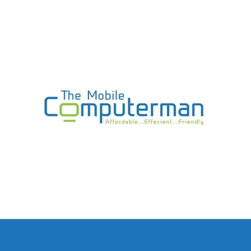 Logo for computerman