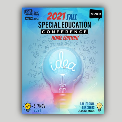 CTA Special Education Conference Program Cover