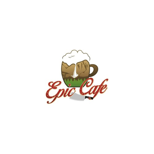 Create an EPIC logo for the best little cafe in the Eastern Sierra!