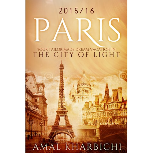 Design the cover of the next best-seller about Paris (France)
