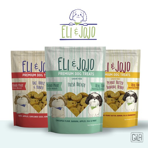 Dog Logo, Packaging & Illustration