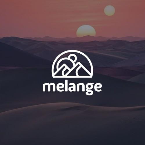 Modern logo for a quantitative social media/news app