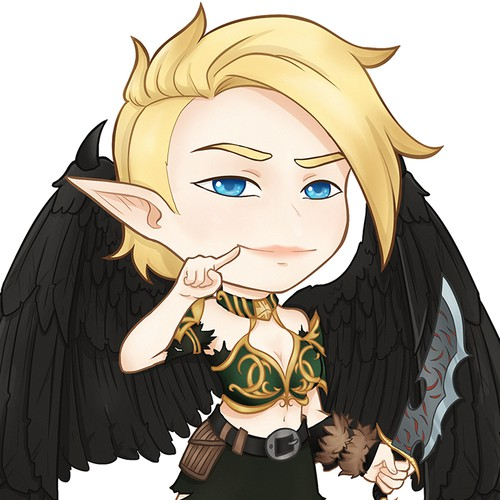 Chibi DnD Character