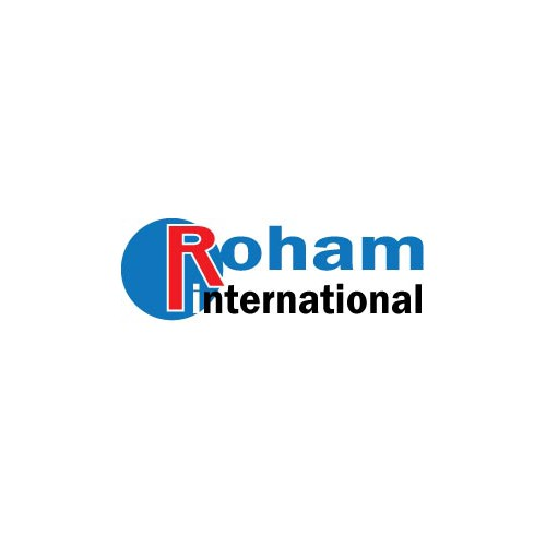 Roham International - Edgy, Creative Logo for Marketing Firm