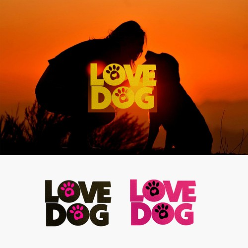 Design my Love Dog Logo
