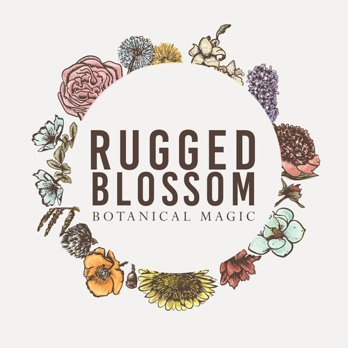 Logo for Rugged Blossom