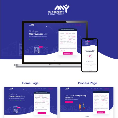 My Property Conveyancer Website