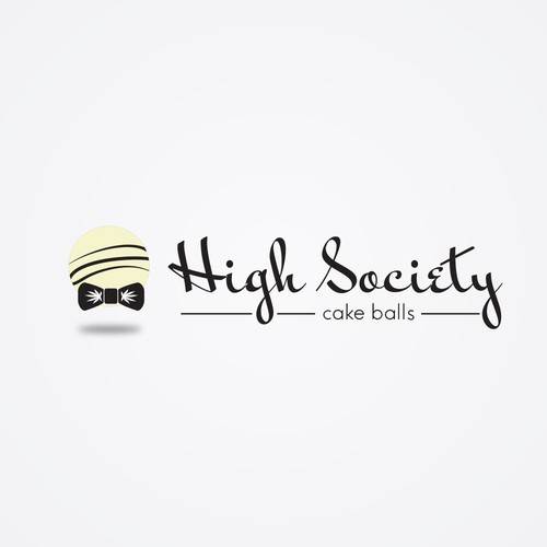 Sophisticated and simple logo for medical marijuana boutique cake ball