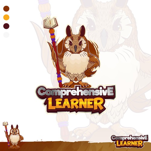 Create a Custom Character Design/Mascot for Comprehensive Learner