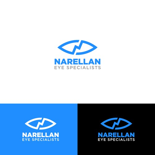 Blue logo for EYE Specialist