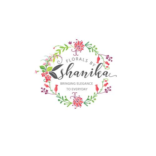 Logo for florist