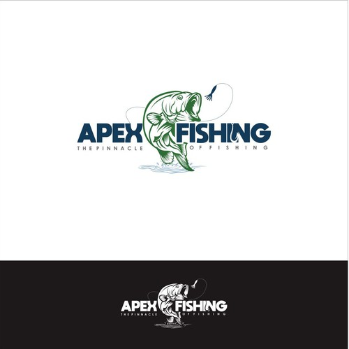 Logo Concept for Apex Fishing
