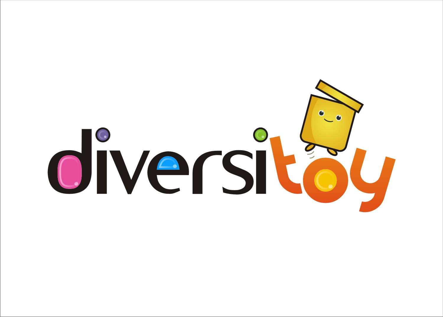 COOL and FUN identity for Diversitoy.com - a new toy rental concept!