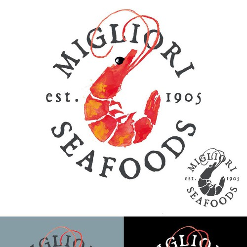 Logo for Wild caught Seafood Produces