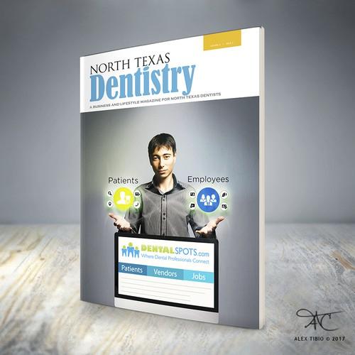 Magazine Cover for DentalSpots.com