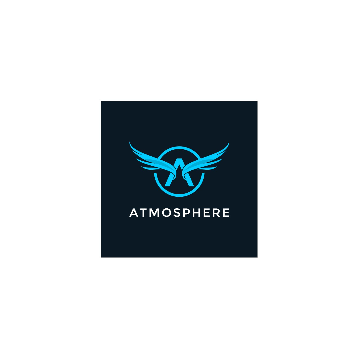 Design a luxury aviation themed logo with some modern accents