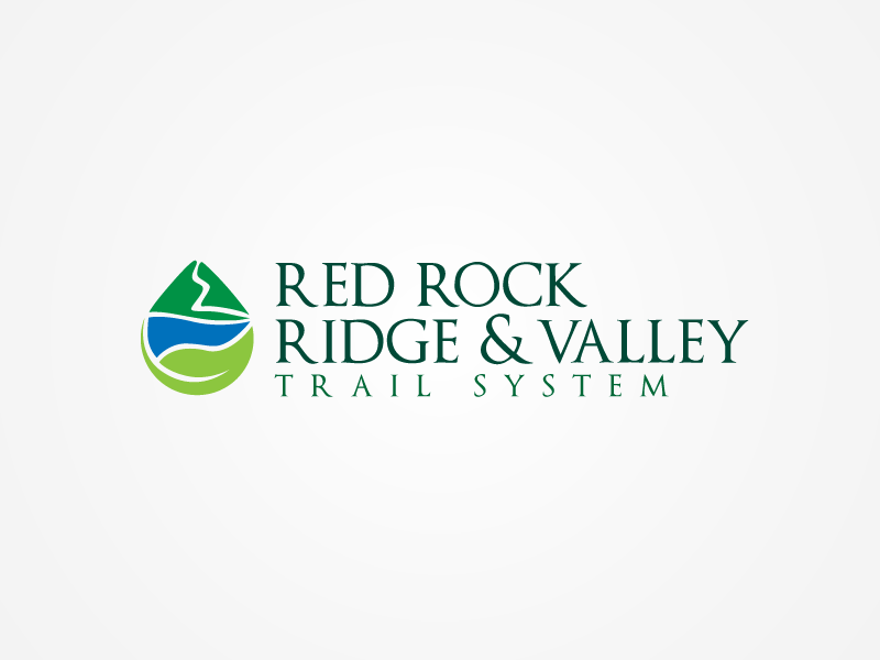 logo for Red Rock Ridge and Valley Trail System