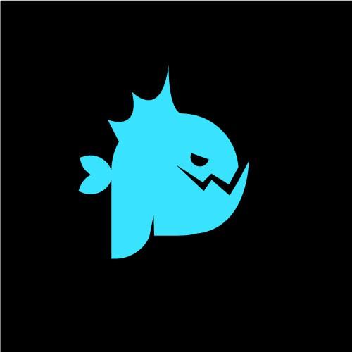 Art X Toys PettyPiranha Logo desing