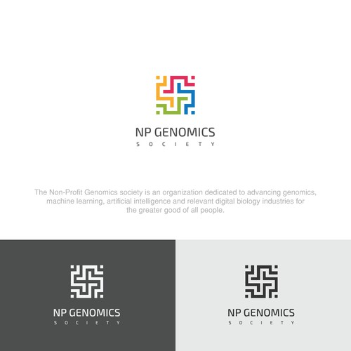 Logo Concept for NP GENOMIC SOCIETY