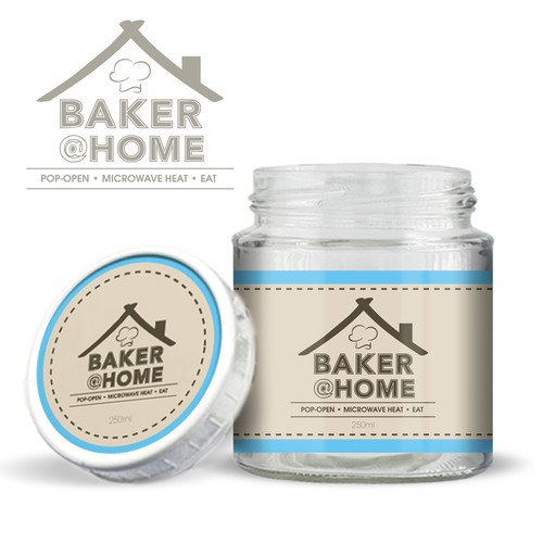 Logo /Label Concept for Baker @ Home