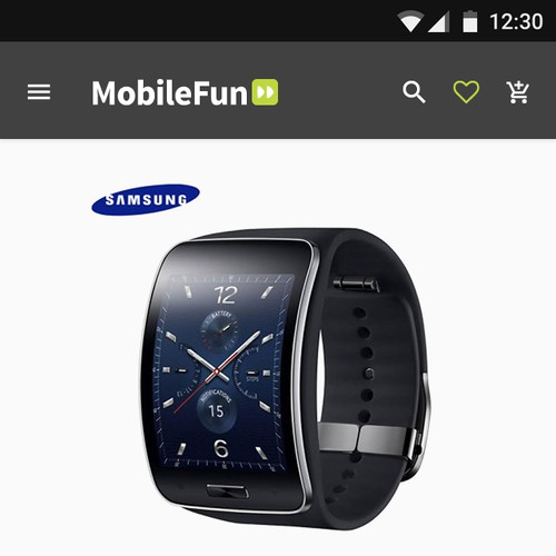 Mobile Shop App