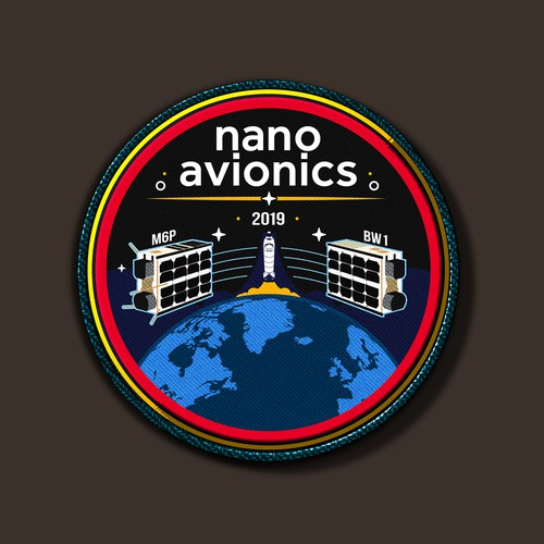 Logo Patch Nano Avionics