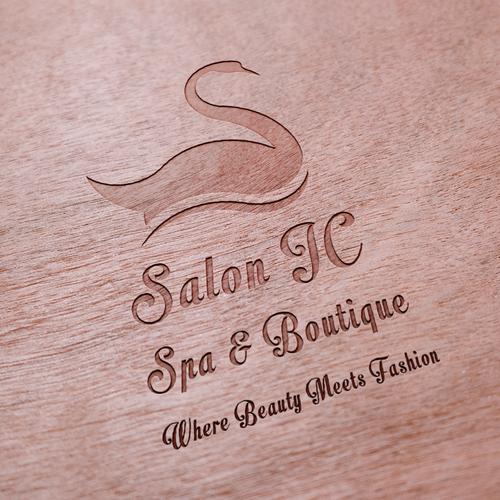 Logo concept for a beauty salon.
