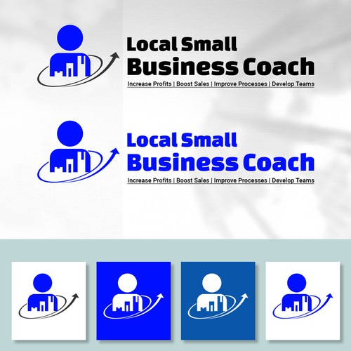 Logo Concept for Local Small Business Coach