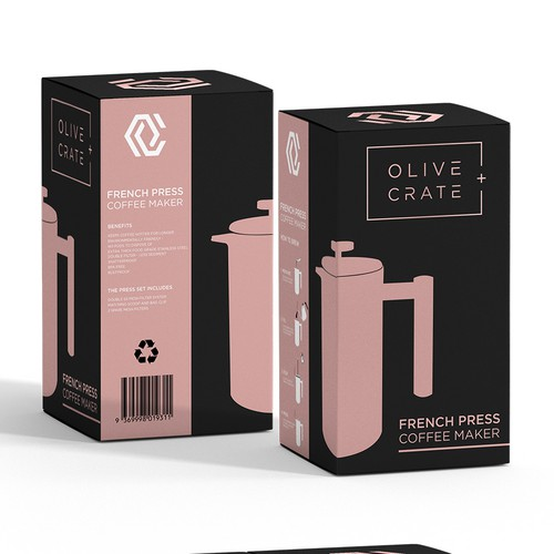 Packaging concept for OLIVE CRATE +