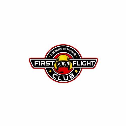 Logo design for a mobile professional flight simulator