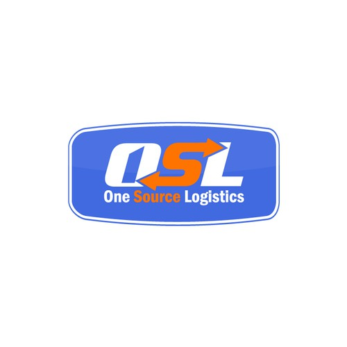 Logo concept for logistics company
