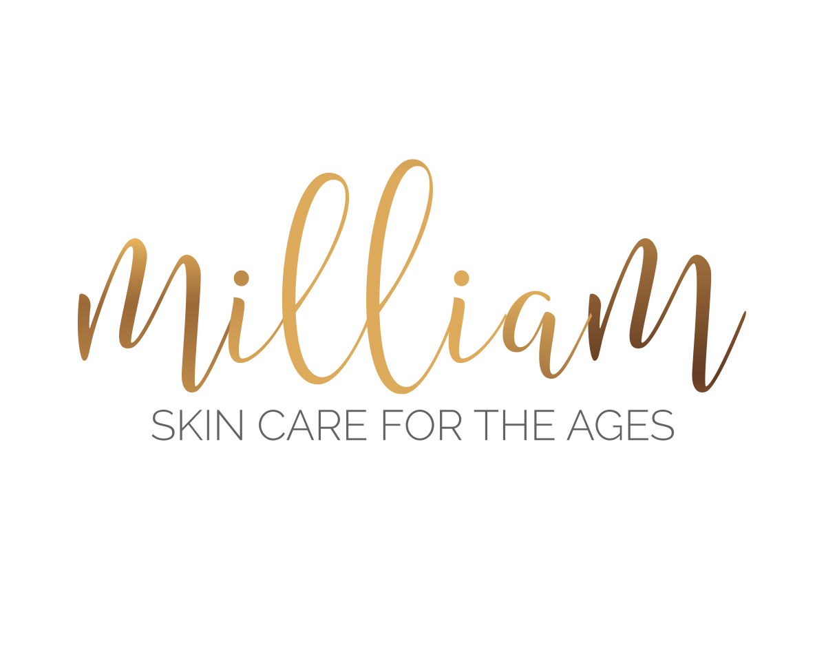 """Milliam"" logo and tag"