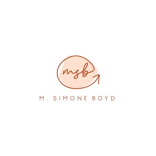 Logo Concept for M. Simone Boyd