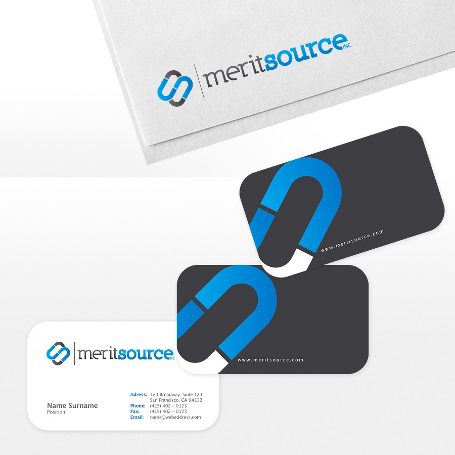 Help Merit Source Inc. with a new logo
