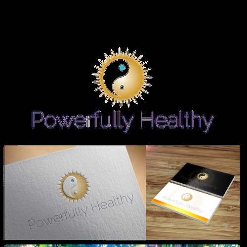 Create a memorable trademark logo for Powerfully Healthy!