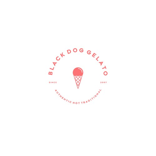 BLACK DOG GELATO - Concept 01