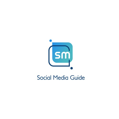 Logo design for social media support business