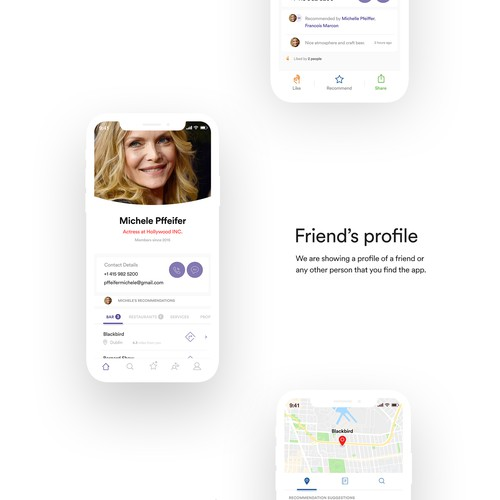 Teepic - Recommend people or places you like