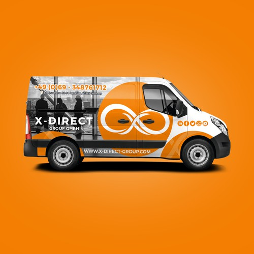 X-Direct Van Wrap
