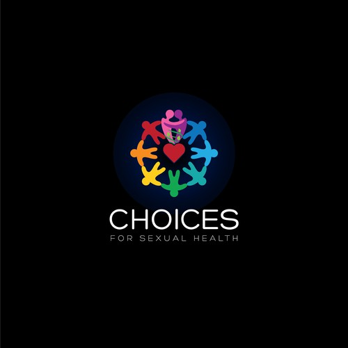 Bold logo design : choices for sexual health