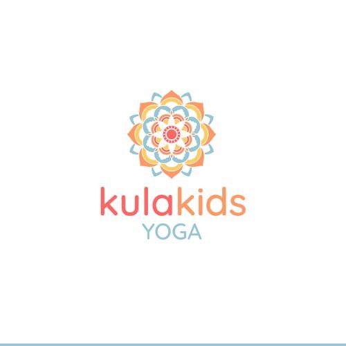 Logo for KulaKids Yoga