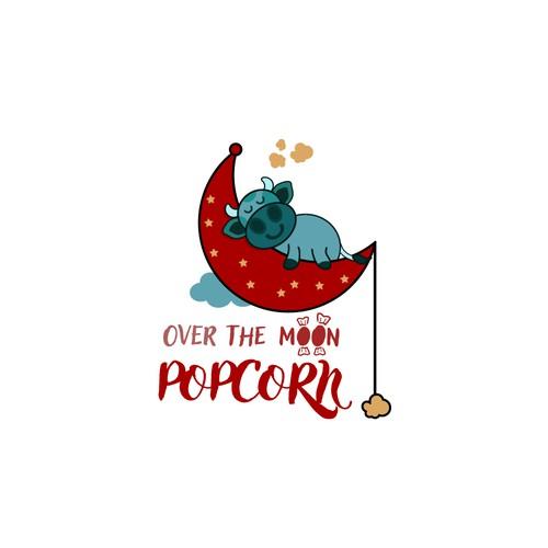 Logo design for Popcorn gourmet store.